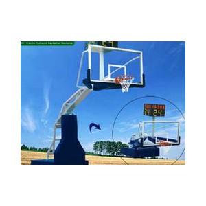 甘肃力源供应价格适中的电动液压篮球架——宁夏体育器材经销商