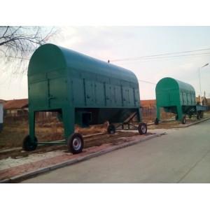 TCQY120/480大型黑龙江省鑫达牌小麦圆筒初清筛
