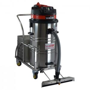 仓库专用清扫机清扫地面粉尘颗粒用威德尔手推式扫地机