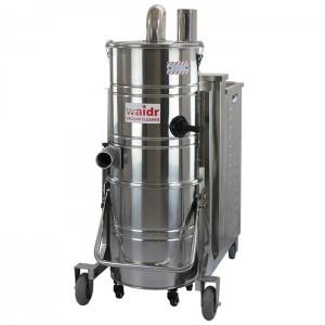 陕西工业吸尘器道路施工吸石子用100L强劲吸力汽油机吸尘器