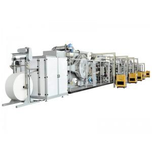 卫生巾生产线厂家 大量供应口碑好的全伺服控条形包装护翼卫生巾生产线