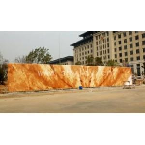在哪里能买到好的晚霞红景观石,厂家直销晚霞红板材