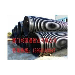 连续缠绕B型结构增强管厦门现货库存,高质量的福建HDPE聚乙烯增强缠绕结构壁克拉管,厂家火热供应
