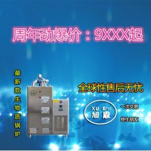 旭恩立式50KG生物质颗粒燃料蒸汽锅炉经销商