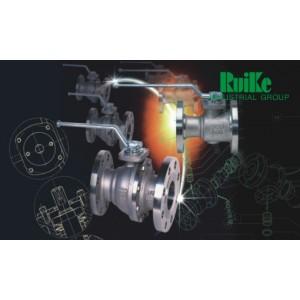 美国瑞克Ruike两片式浮动球阀