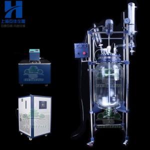 1L~200L 实验中试反应防爆双层玻璃反应釜