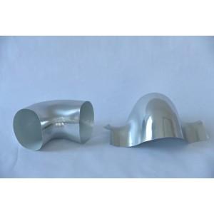 供应pvc外保护价格——佳壳新材料——信誉好的U-PVC弯头90°供应商