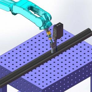 机器人焊缝跟踪系统可与机器人实时通讯 激光焊缝跟踪