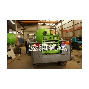 小型混凝土搅拌车建筑工地1.6方小型水泥搅拌运输罐车