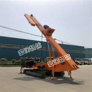 可定做履帶長螺旋打樁機 液壓工程履帶螺旋打樁機 鉆孔機多少錢