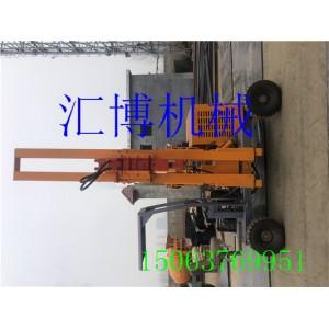 护栏打桩机 高速护栏立柱打桩机