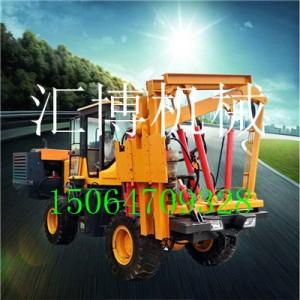 高速公路立柱打桩机 HB-30乡村道路护栏打桩机的生产厂家