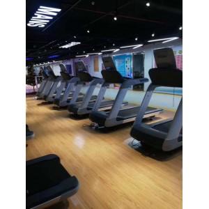 健身房商用跑步机动感单车划船器商用健身房力量器械山东健身器材