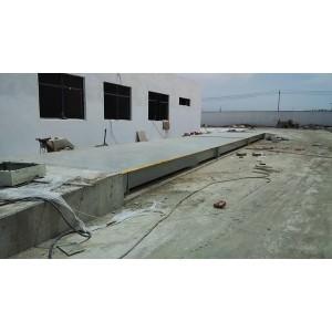 蚌埠16米汽车衡工地秤钢筋或者混凝土车用